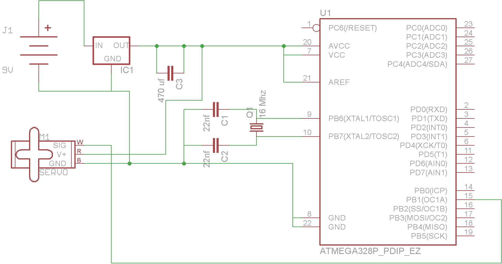 servo schematic